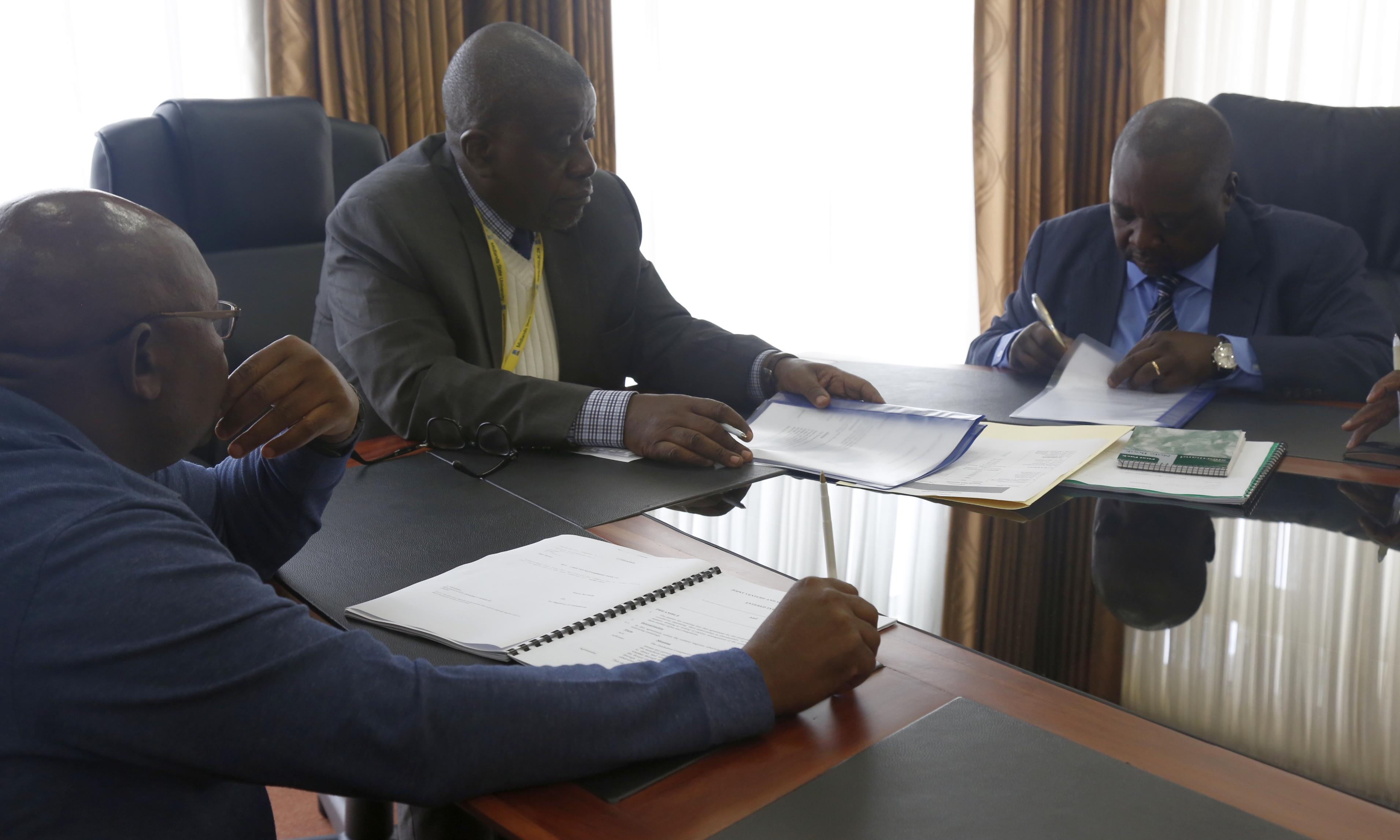 Midlands State University Signs a Memorandum of Understanding with the Defence Economic Development Department