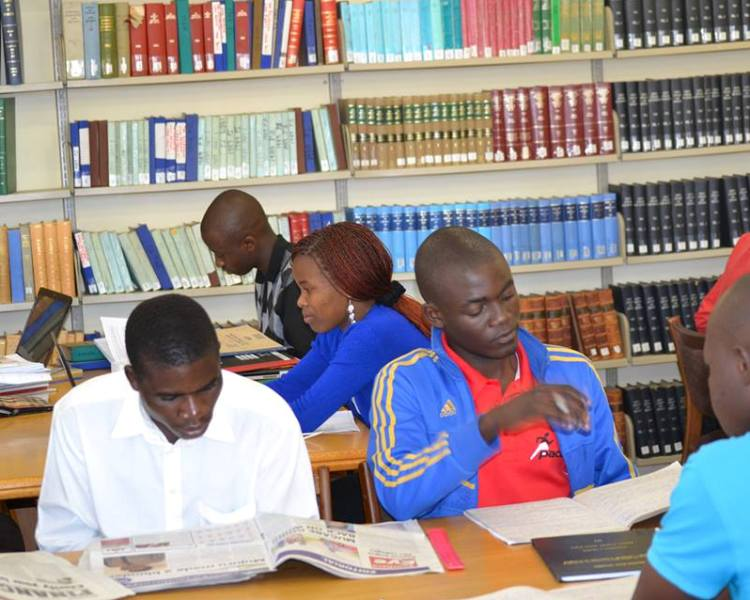 Harare Campus Library Opening