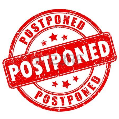 Memorial Service Postponement